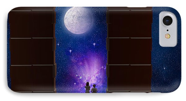 Somewhere In Time And Space Phone Case by Carol and Mike Werner
