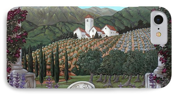 Somewhere In Tuscany Phone Case by Gerry High