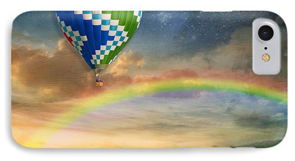 Somewhere Over The Rainbow IPhone Case by Juli Scalzi