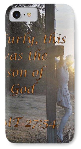 Son Of God Phone Case by Sharon Elliott