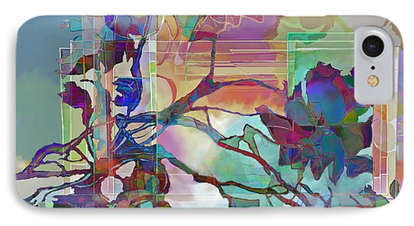 IPhone Case featuring the digital art Sonata by Ursula Freer