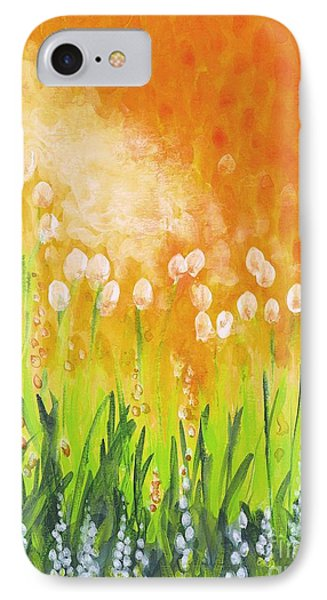IPhone Case featuring the painting Sonbreak by Holly Carmichael