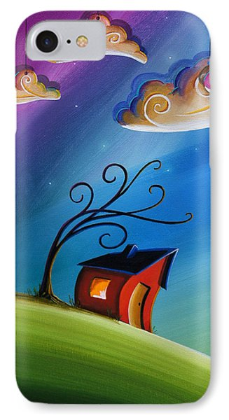 Song At Sunset IPhone Case by Cindy Thornton