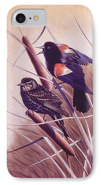 Song Of The Marsh Phone Case by Richard De Wolfe