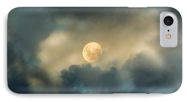 Song To The Moon IPhone Case by Georgiana Romanovna