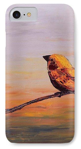 Songbird Series 1 IPhone Case by Carolyn Doe
