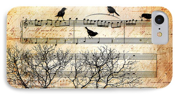 Songbirds IPhone Case by Gary Bodnar