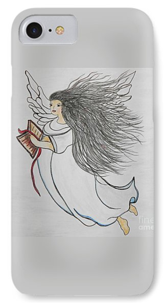 Songs Of Angels Phone Case by Eloise Schneider