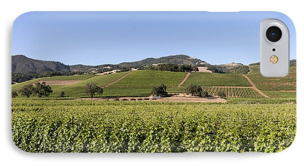 Sonoma County Vineyards IPhone Case by Carol M Highsmith
