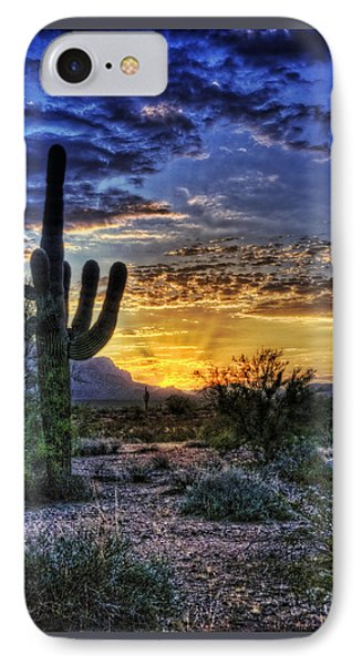 Sonoran Sunrise  Phone Case by Saija  Lehtonen