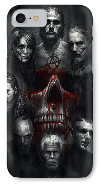 Sons Of Anarchy Tribute IPhone Case