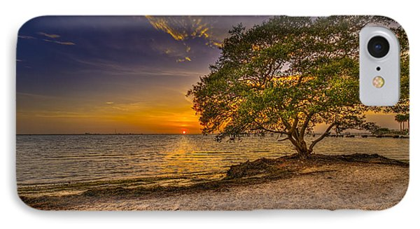 Soothing Light IPhone Case by Marvin Spates