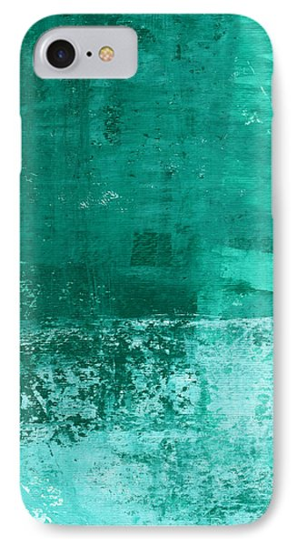 Soothing Sea - Abstract Painting IPhone Case