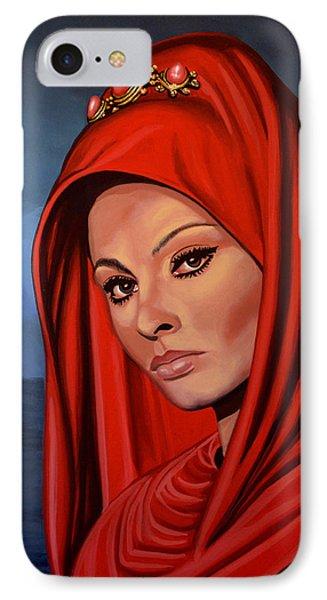 Sophia Loren 2  IPhone Case by Paul Meijering