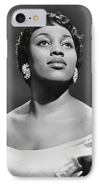 Soprano Leontyne Price IPhone Case by Underwood Archives