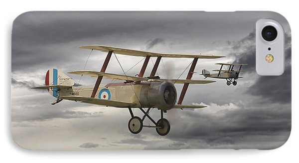Sopwith Triplane IPhone Case by Pat Speirs