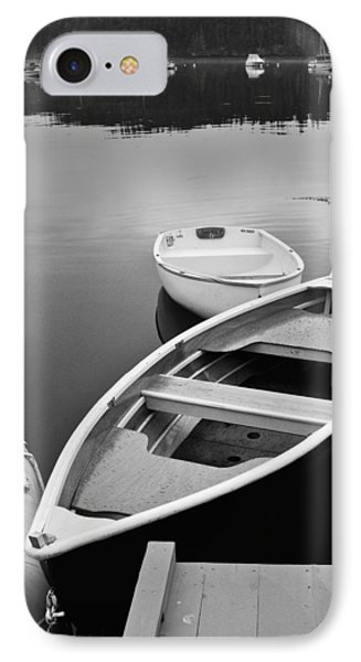 Sorrento Harbor Boats IPhone Case by Bill Barber