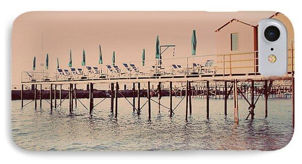 Sorrento Pier IPhone Case by Nastasia Cook