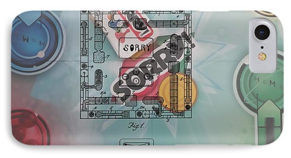 Sorry Game Patent IPhone Case by Dan Sproul