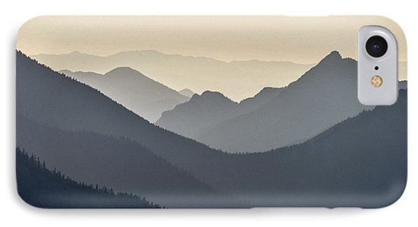 Sostice In The Olympic Mountains IPhone Case by Ronda Broatch