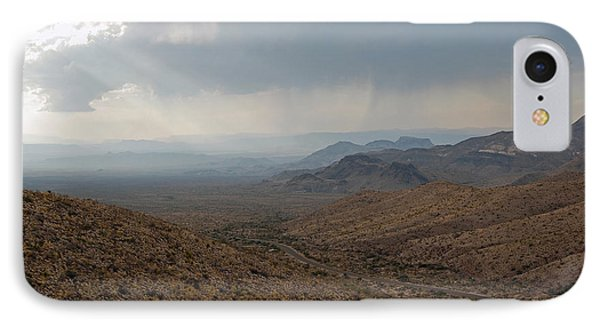 Sotol Scenic Overlook Big Bend National Park IPhone Case by Shawn O'Brien