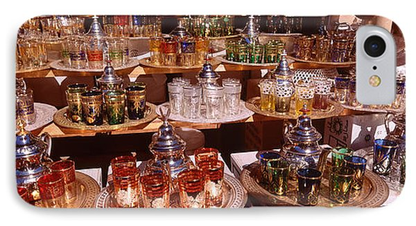 Souk, Marrakech, Morocco IPhone Case by Panoramic Images