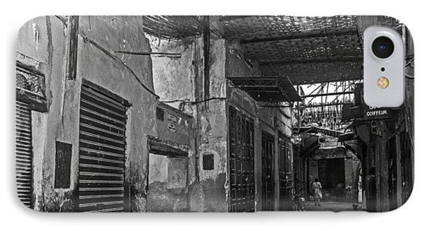Souk Street In Marrakech IPhone Case