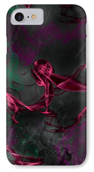 IPhone Case featuring the digital art Soul Hunter by Martina  Rathgens