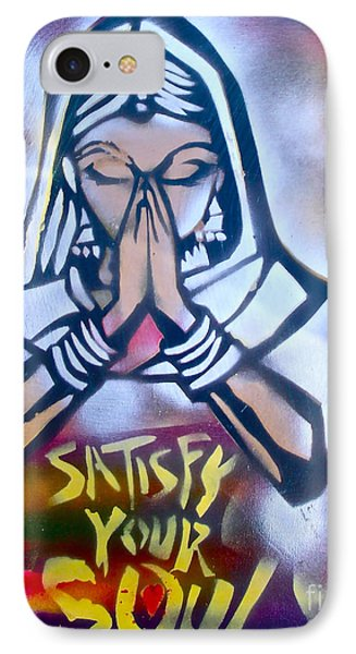 Soul Satisfying 1 Phone Case by Tony B Conscious