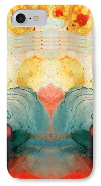 Soul Star - Abstract Art By Sharon Cummings IPhone Case