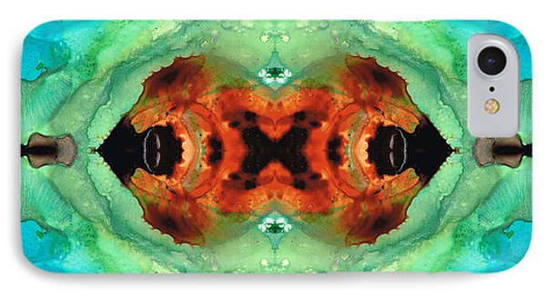 Soul Symphony - Abstract Art By Sharon Cummings IPhone Case by Sharon Cummings