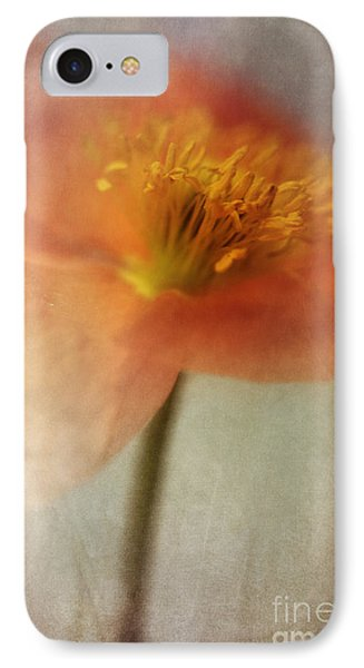 Flowers iPhone 7 Case - Soulful Poppy by Priska Wettstein
