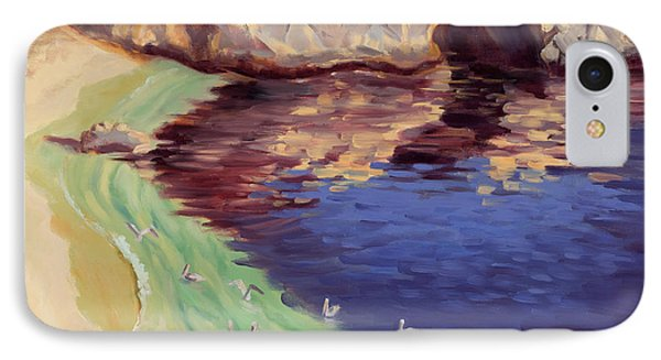 Soulful Sanctuary Point Lobos Phone Case by Karin  Leonard
