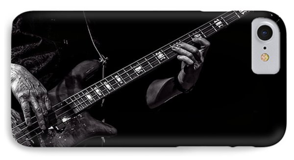 Sounds In The Night Bass Man IPhone Case