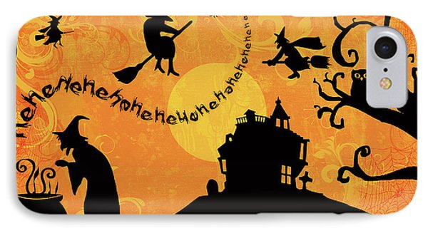 Sounds Like Halloween IIi IPhone Case by Belinda Aldrich
