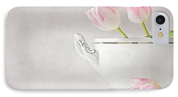 Soup Of Tulips Phone Case by Claudia Moeckel
