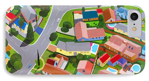 South Africa  Suburb IPhone Case