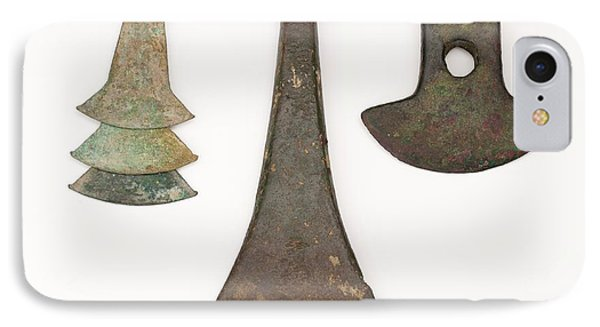 South American Bronze Age Axes IPhone Case by Paul D Stewart