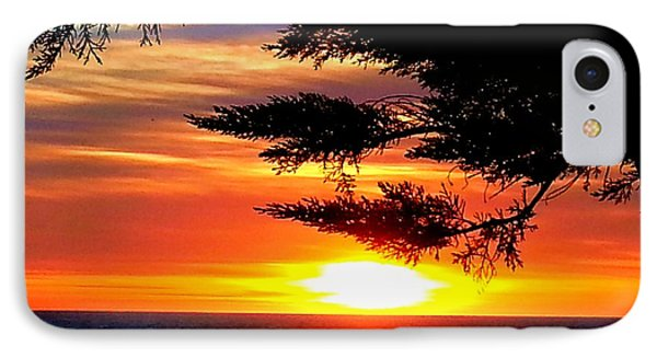 South Bay Sunset IPhone Case by Steed Edwards