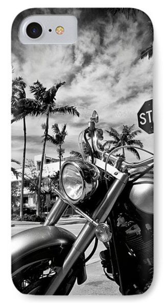 South Beach Cruiser Phone Case by Dave Bowman