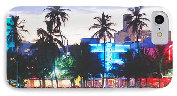 South Beach Miami Beach Florida Usa IPhone Case by Panoramic Images