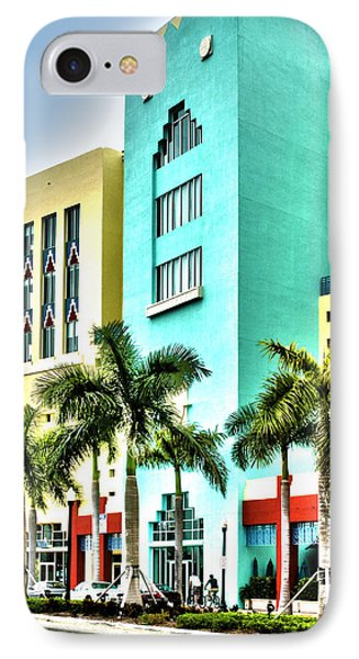 South Beach Phone Case by Michelle Wiarda