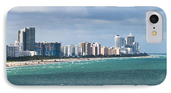 South Beach On A Summer Day IPhone Case by Ed Gleichman