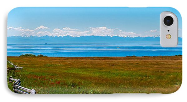 South Beach San Juan Island  IPhone Case by Ken Stanback