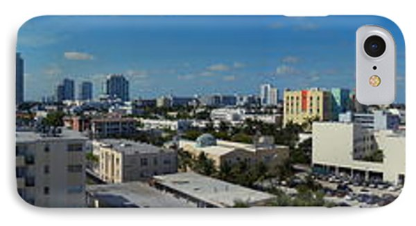 IPhone Case featuring the photograph South Beach Sofi District by J Anthony