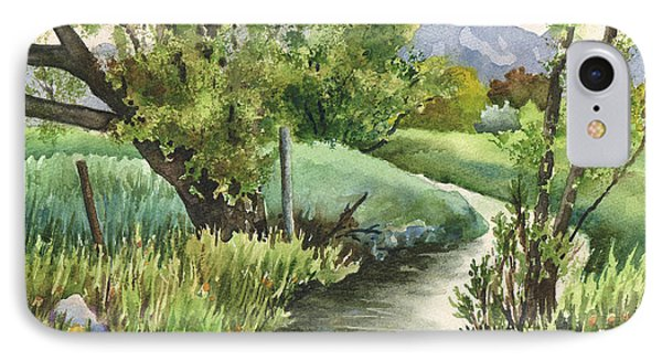 South Boulder Creek IPhone Case by Anne Gifford