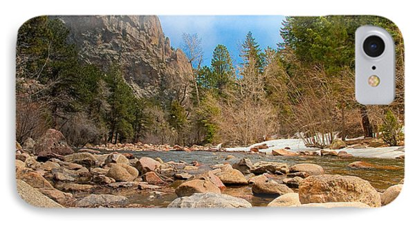 IPhone Case featuring the photograph South Boulder Creek - Eldorado Canyon State Park by Tom Potter