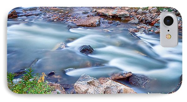 South Boulder Creek Little Waterfalls Rollinsville Phone Case by James BO  Insogna