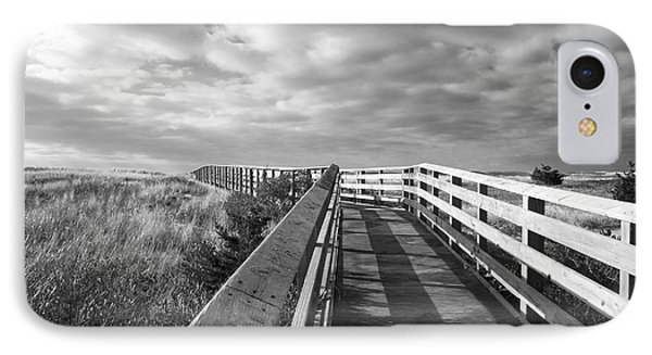 IPhone Case featuring the photograph South Cape Beach Boardwalk by Brooke T Ryan