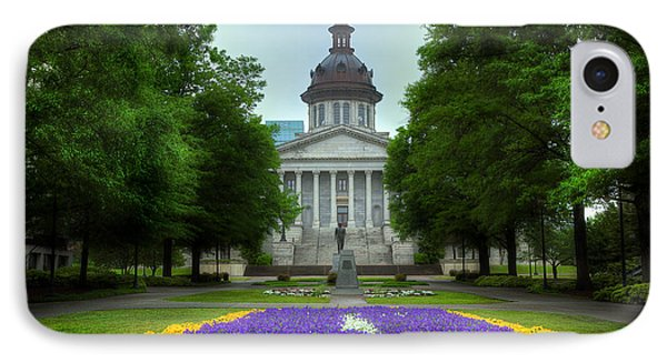 South Carolina State House IPhone Case by Michael Eingle
